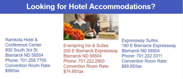 Accommodations 2019